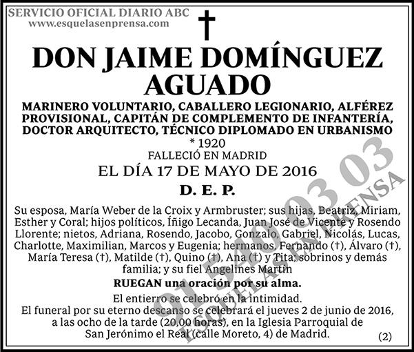 Jaime Domínguez Aguado